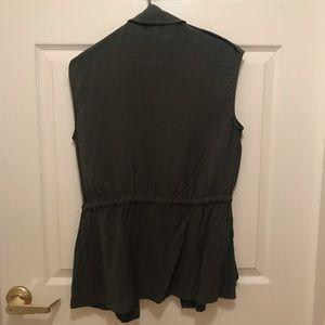 RACHEL Rachel Roy Tops - Green utility vest